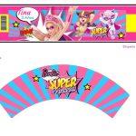 Kit Imprimible cumple Barbie Super Princesa 11