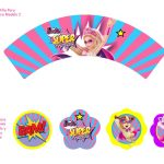 Kit Imprimible cumple Barbie Super Princesa 12
