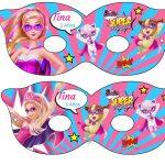 Kit Imprimible cumple Barbie Super Princesa 13