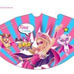 Kit Imprimible cumple Barbie Super Princesa 15