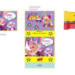 Kit Imprimible cumple Barbie Super Princesa 17