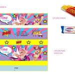 Kit Imprimible cumple Barbie Super Princesa 22