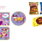 Kit Imprimible cumple Barbie Super Princesa 29
