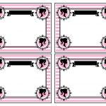 Kit Imprimible cumple Barbie modelo 2 01