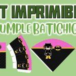 Kit Imprimible de Batichica para Cumpleaños