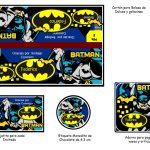 Kit Imprimible cumple Batman 02
