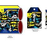 Kit Imprimible cumple Batman 03