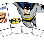 Kit Imprimible cumple Batman 04