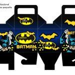 Kit Imprimible cumple Batman 05