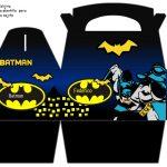 Kit Imprimible cumple Batman 06