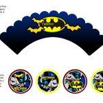 Kit Imprimible cumple Batman 08
