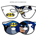 Kit Imprimible cumple Batman 09