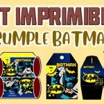 Kit Imprimible de Batman para Cumpleaños
