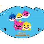 Kit Imprimible cumple baby shark 11