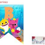 Kit Imprimible cumple baby shark 20
