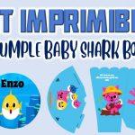 Kit Imprimible de Baby Shark para Cumpleaños Niño