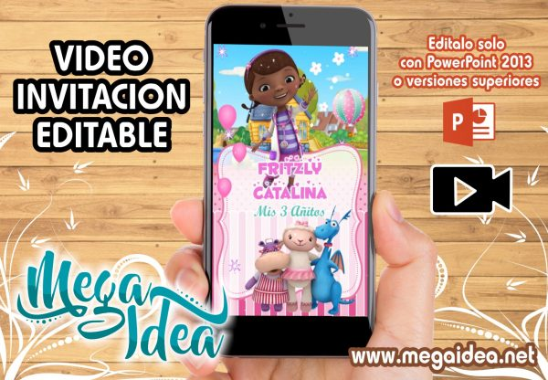 VIDEO Invitacion Doctora Juguetes