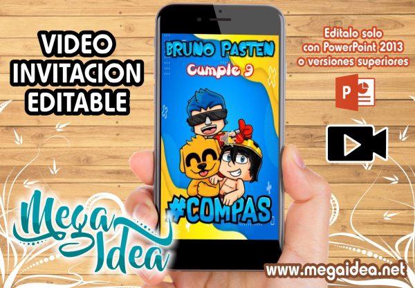 VIDEO Invitacion Los Compadretes