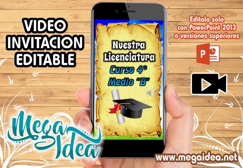 VIDEO Invitacion Nuestra Licenciatura