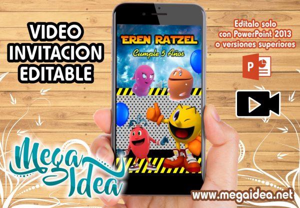 VIDEO Invitacion PACMAN