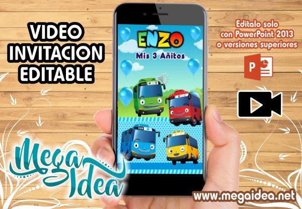 VIDEO Invitacion Tayo Bus