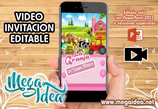 VIDEO Invitacion Zenon Girl