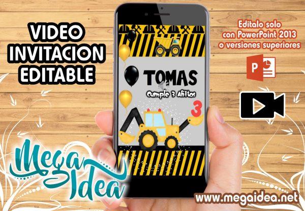 VIDEO invitacion Construccion