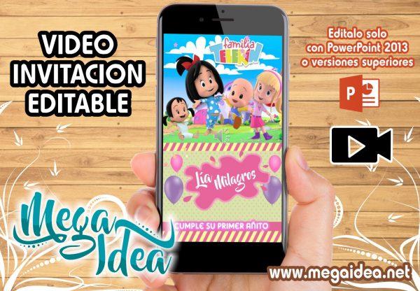 VIDEO invitacion Familia Telerin Girl