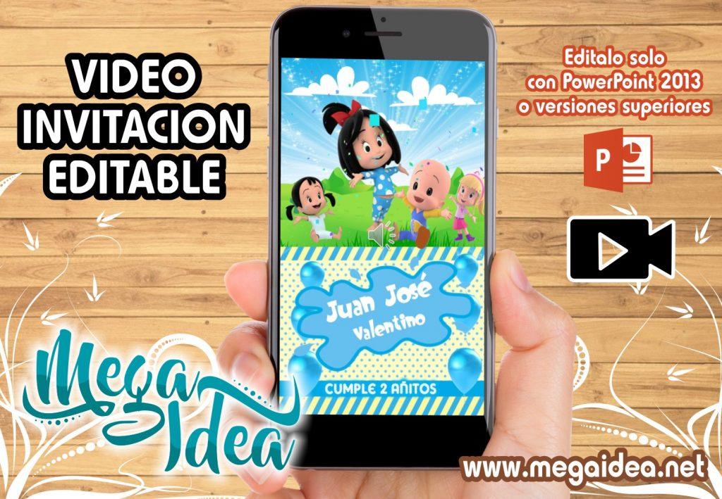 VIDEO invitacion Familia Telerin boy