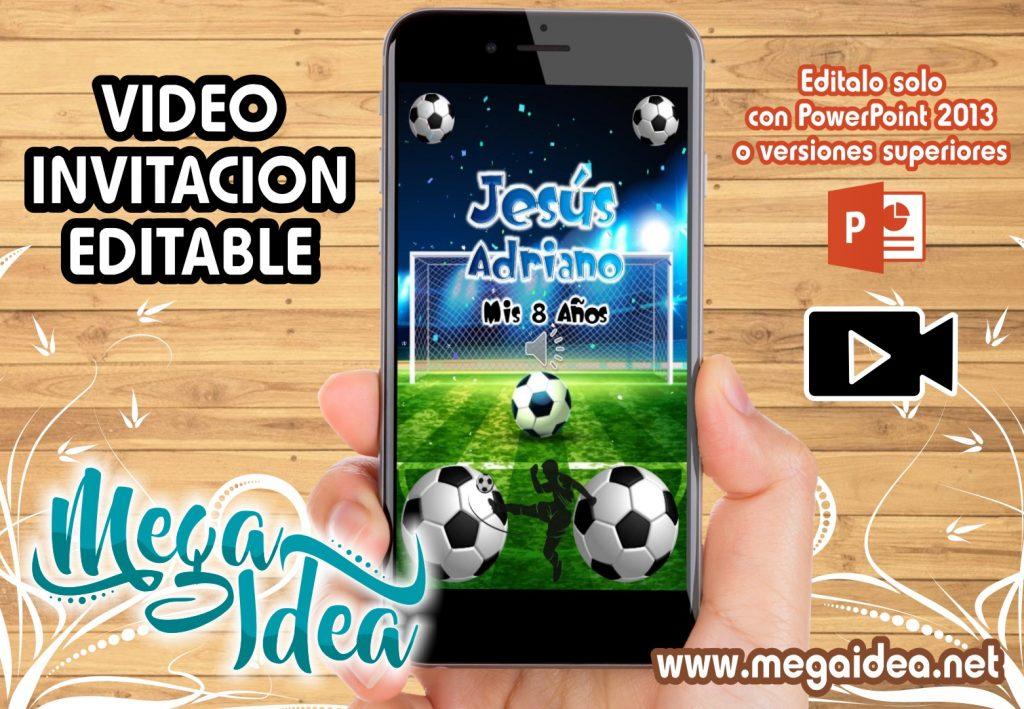 VIDEO invitacion Futbol