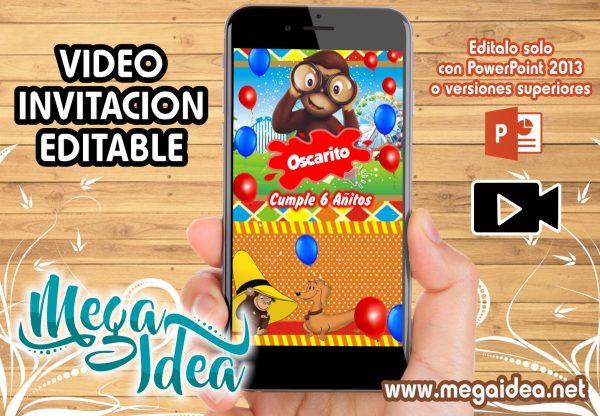 VIDEO invitacion Jorge El Curioso