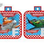 banderin Aviones para cumple boy 01