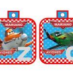 banderin Aviones para cumple boy 03