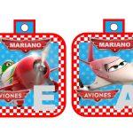 banderin Aviones para cumple boy 06