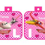 banderin Aviones para cumple girl 02