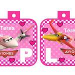 banderin Aviones para cumple girl 05