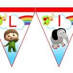 banderin BabyTV para cumple 02
