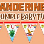 Banderines de BabyTV para Cumpleaños
