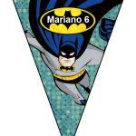 banderines cumple Batman 01