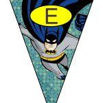 banderines cumple Batman 03
