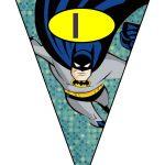 banderines cumple Batman 05