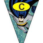 banderines cumple Batman 07