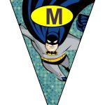 banderines cumple Batman 09