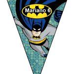 banderines cumple Batman 13