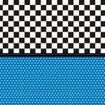 fondo azul negro cuadrados