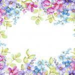 fondo floral colores