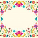 fondo floral69 vector flores