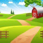 fondo granja granjita