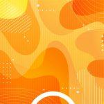 fondo naranja megaidea abstracto