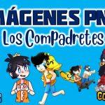 Imágenes de Los Compadretes en PNG fondo Transparente